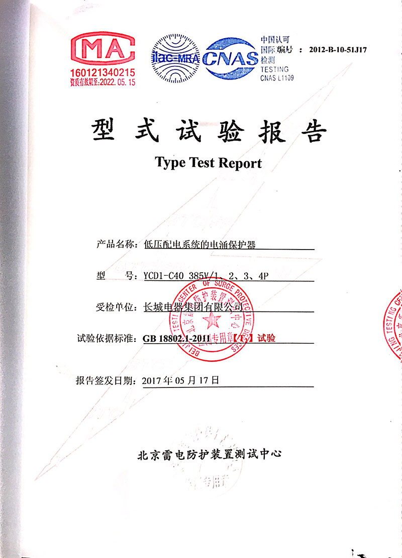 YCD1-C40委托报告