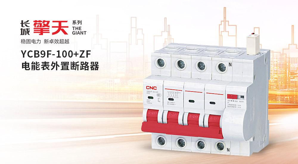 YCB9F-100+ZF系列电能表外置断路器