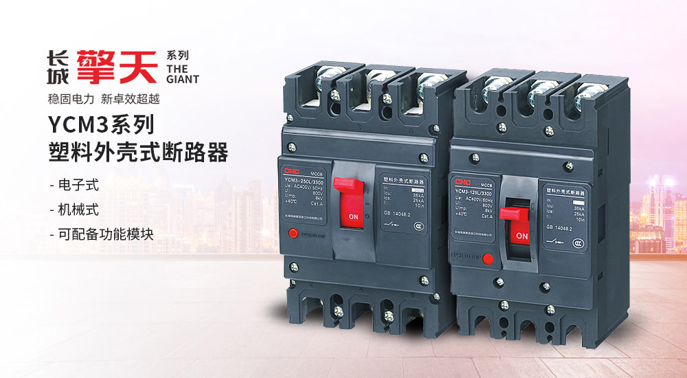 YCM3/YCM3E系列塑壳式断路器
